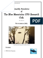 The Blue Mountains UFO Research Club Newsletter - November 2011