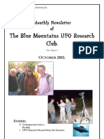 The Blue Mountains UFO Research Club Newsletter - October 2011