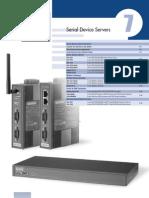 2009AdvCat eAutom Ch07 Serial Device Servers EKI ADAM-457x USB-4604 Es