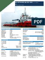 USV 3200HP 45M (MV Kelisamas 2)