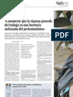 Entrevista Nueva España 1
