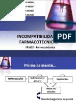 Incompatibilidades farmacotécnicas final