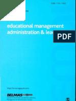PS Educ. Mgmt Admin & Leadership Jl 20080001