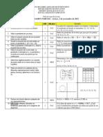 MATE 131 1419 EXAMEN III Tabla de Especificaciones