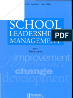 PS School Leadership and Mgmt Ap20080001