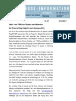 (27) Erstflug AirFrance London