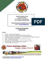 Lettre Mensuelle FAL Marseille Octobre 2012-2