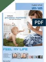 DSC W35 55 Brochure