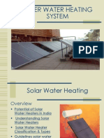 Soler Water Heating