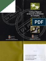 Catálogo de  Especies Amenazadas de Cantabria