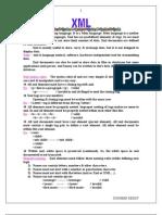 Xml Notes
