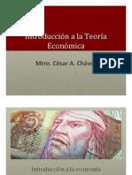 Introducción a la Teoría Económica I