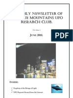 The Blue Mountains UFO Research Club Newsletter - June 2011