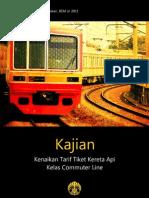 Kajian BEM UI - Kenaikan Tarif Tiket Kereta API Kelas Commuter Line