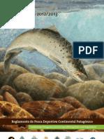 Reglamento Pesca 2012-13