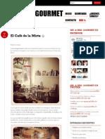 Artículo El Cafè de la Mirta - Mr Mrs Gourmet (Spanish) - 07.06.2012