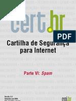 Cartilha de Segurança para Internet - Parte 06 Spam