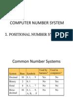 Computer Number System