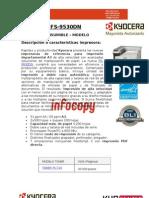 Toner para impresora Kyocera Document Solutions  FS 9530DN