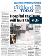 Manila Standard Today - Tuesday (October 30, 2012) Issue