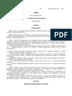 USTAWA z Dnia 4 Wrzesnia 1997 r o Dzialach Administracji Rzadowej (Tekst Jednolity)