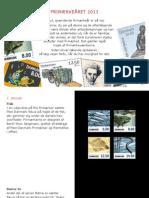 Frimærkeprogram 2013.1