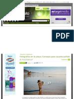 Trucos y Consejos - Fotografias en La Playa