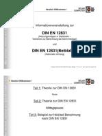 Vergleich DIN 4701 Und DIN en 12831