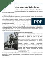 Creartehistoria.blogspot.com-Neobatllismo Gobierno de Luis Batlle Berres