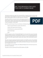 How to Run The Reason for God DVD Study with Chris