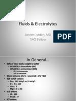 Fluid & Electrolytes Disorders 2011 by Janeen Jordan