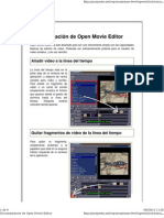 Open Movie Editor