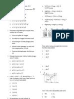 Latihan Ujian Nasional Kimia 2013