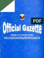 SOL Official Gazette Au4,20080001