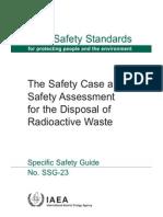 IAEA Safe Disposal of Radwaste