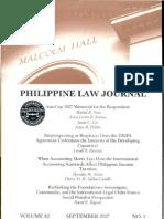 Sol Phil. Law Jl s20070001