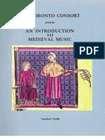 Teachers Guide on Medevil Music