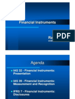 Financial Instruments Presentation