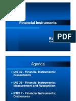 Financial Instruments Presentation