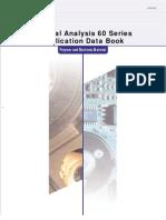 TA60 Data Book for Polymer&Electronics C160E010