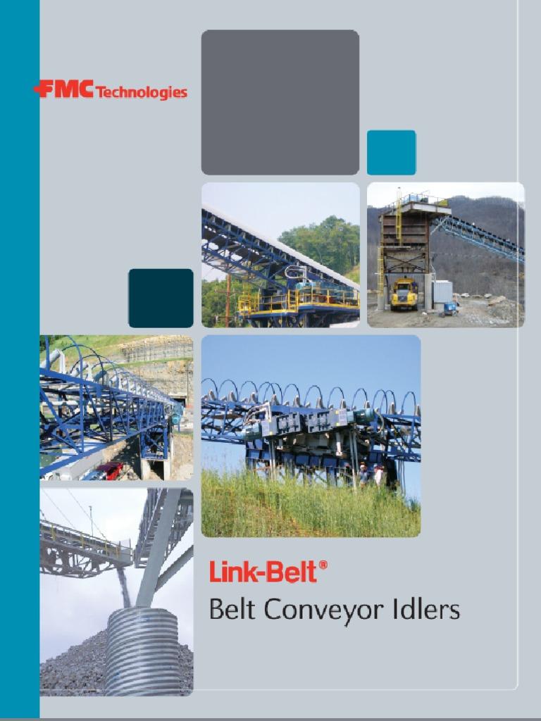 Return Idler Complete Assembly CEMA D Rating 5 in Roll Diameter 30 in Belt Width