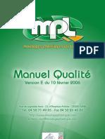 Manuel Qualite Mpl