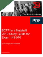 BCFP Nutshell 2010