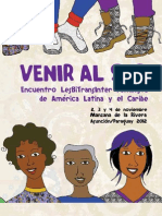 Programa Venir Al Sur - Definitivo