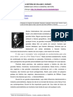 A História de William Durant, o homem que criou a General Motors
