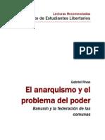El anarquismo y el problema del poder - Gabriel Rivas