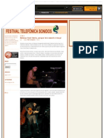 Blog Da Cobertura Do Telefonica Sonidos 2011