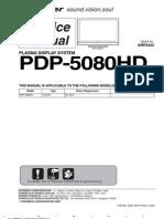 Pioneer Pdp-5080hd Sm
