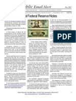 287 - Using Non-federal Federal Reserve Notes