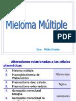 Tema 8. Sindrome Mieloproliferativo - Dra. Nilda Iriarte